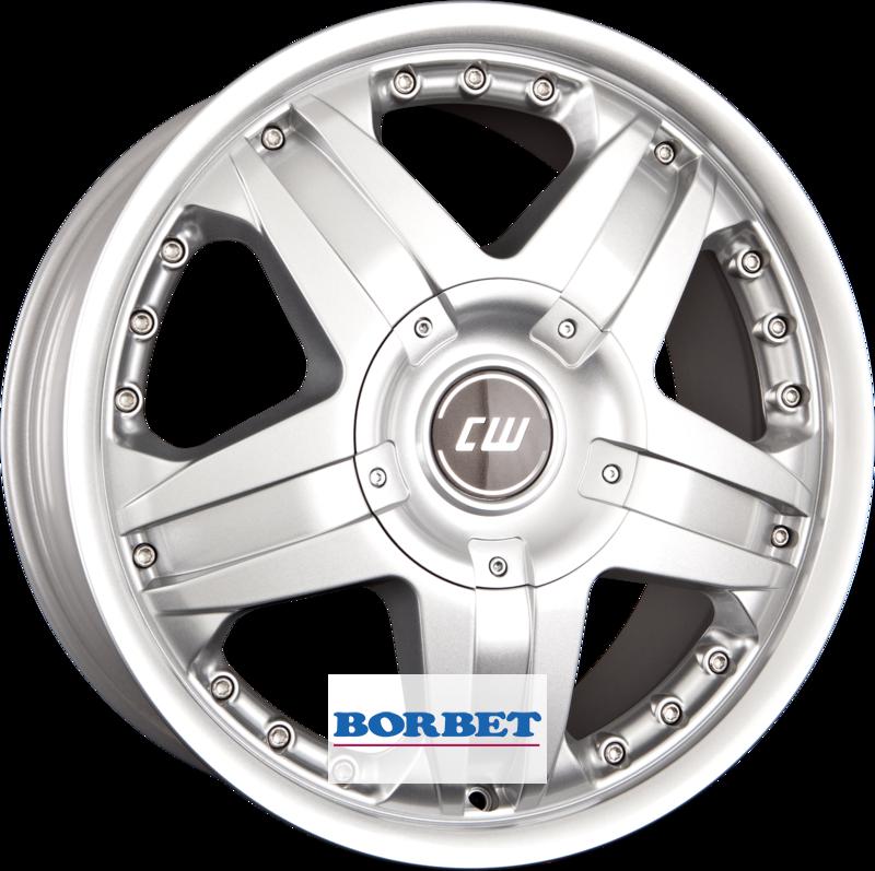 BORBET CWB crystal silver