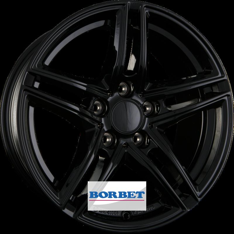 BORBET XR black glossy