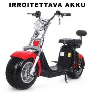 EUROVANNE CITYSKOOTTERI X10 - 1000W 60V 20Ah x 2