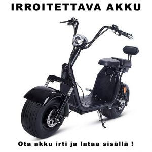 EUROVANNE CITYSKOOTTERI X7 - 1000W 60V 12Ah