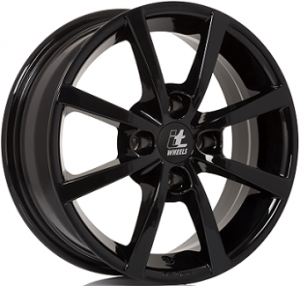IT WHEELS ALISIA Gloss Black