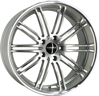 MONACO CHICANE Hyper Silver / Polished