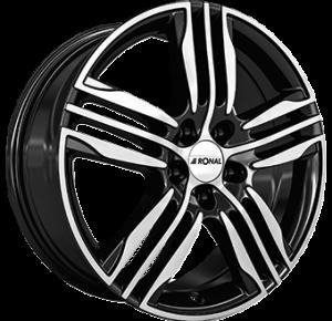 RONAL R57 Gloss Black / Polished